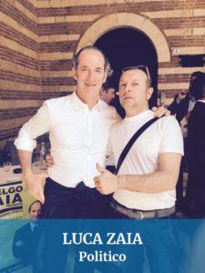 Abbiamo guidato anche per Luca Zaia politico