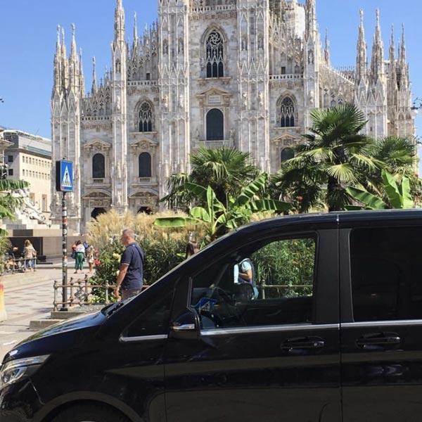 NCC Mercedes Van Milano
