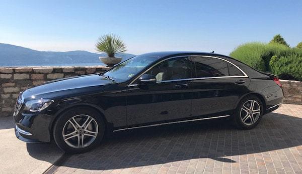 L'eleganza del viaggio con Autotransfer in Mercedes Classe S