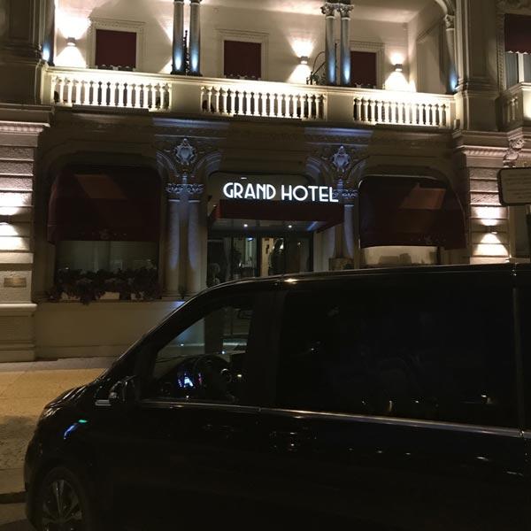 NCC Mercedes V Class Grand Hotel Des Artes Verona