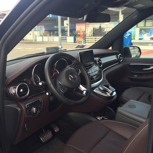 Interni Mercedes V Class