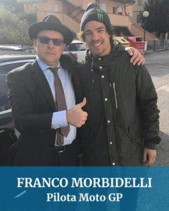 Abbiamo guidato anche per Franco Morbidelli pilota moto GP