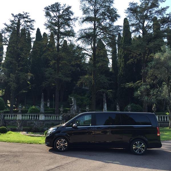 NCC Mercedes V Class Villa Cortine a Sirmione